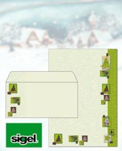 Große Auswahl an Weihnachtspapieren und Weihnachtsumschlägen bei Papier & mehr