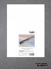 Metallic Transfer-Veredlungsfolie Silber