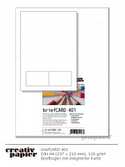 briefCARD 401 - 50 Blatt