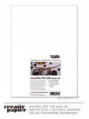 laserFOL PET 250 opak a4 - 50 Blatt