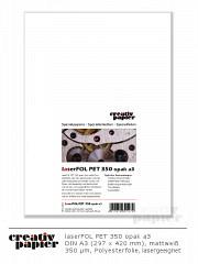 laserFOL PET 350 opak a3 - 50 Blatt