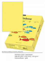 Rainbow Color 120 a4 gelb