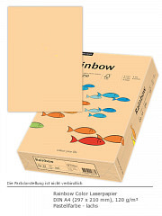 Rainbow Color 120 a4 lachs