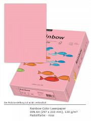Rainbow Color 120 a4 rosa