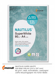 NAUTILUS SuperWhite DIN A4