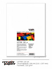 LETTER 120 a4 Universal