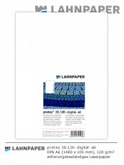 pretex 30.120 -digital- DIN A6 - 1.000 Blatt