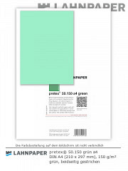 pretex 50.150 DIN A4 grün - 250 Blatt