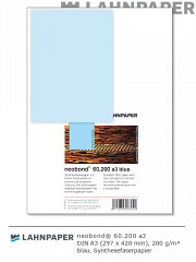 neobond 60.200 a3 blau - 50 Blatt