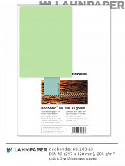 neobond 60.200 a3 grün - 50 Blatt