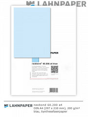neobond 60.200 a4 blau - 250 Blatt