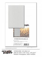 STARSHINE 120 silber DIN A3 - 50 Blatt