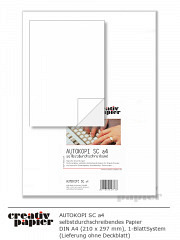 creativAUTOKOPI sc DIN A4 - 500 Blatt