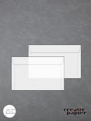 Transparentumschläge DIN C6 HK