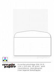 Briefumschläge DIN C6/5 KU lasergeeignet