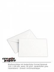 Gefütterte Briefumschläge 120 x 180 mm NK