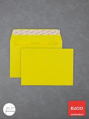 Farbige Briefumschläge DIN C6 HK intensivgelb