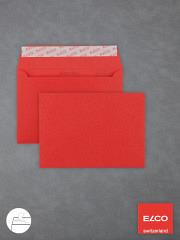 Farbige Briefumschläge DIN C6 HK intensivrot
