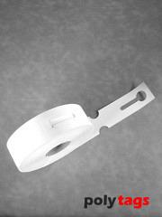 HDPE-Schlaufenetiketten 2650 weiß