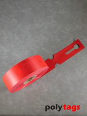 HDPE-Schlaufenetiketten 2650 rot