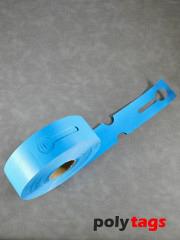 HDPE-Schlaufenetiketten 2650 blau