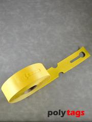 HDPE-Schlaufenetiketten 2650 gelb