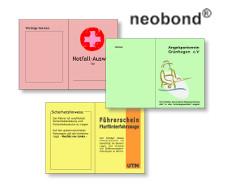 neobond - farbiges strapazierfähiges Synthesefaserpapier