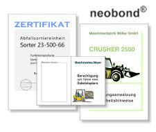 neobond - strapazierfähiges Synthesefaserpapier