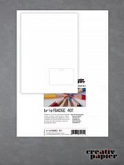briefBADGE 401 - 50 Blatt