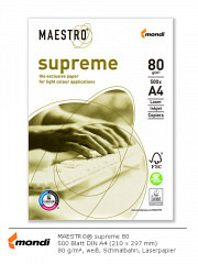 MAESTRO supreme 80 - DIN A4