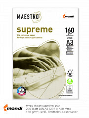 MAESTRO Supreme 160 - DIN A3