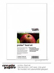 pretex food DIN A4 - 100 Blatt