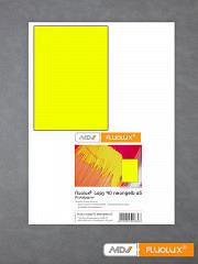 Plakatpapier neon-gelb DIN A5