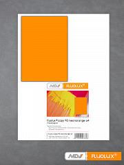 Plakatpapier neon-orange DIN A4