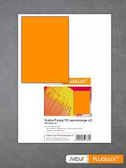 Plakatpapier neon-orange DIN A3