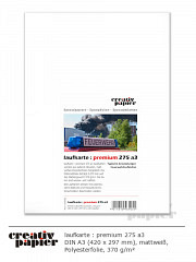 laufkarte : premium 275 a3