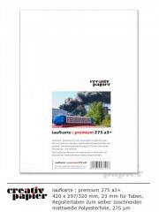 laufkarte : premium 275 a3+