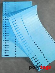 Tyvek Schlaufenetiketten 1612 blau
